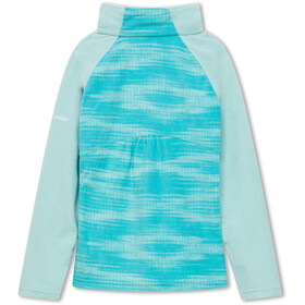 Columbia Glacial II Fleece Print Half Zip Pullover Girls geyser diamond/spray